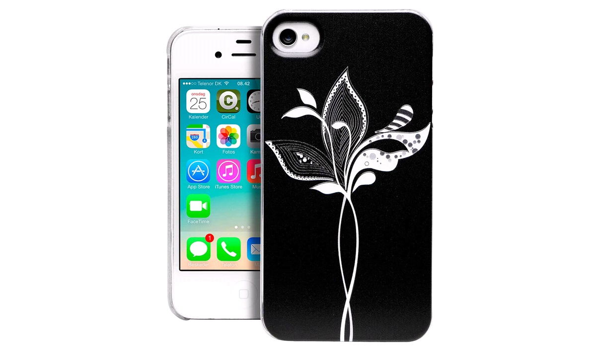 TPU cover Flower iPhone 4/4S