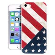 TPU cover US Flag iPhone 5/5S/SE