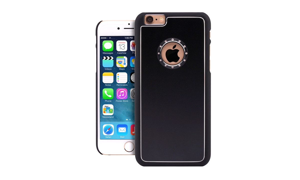 Cover grey alu iPhone 6/6S