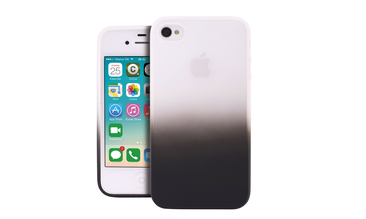 Cover Soft TPU black iPhone 4/4S