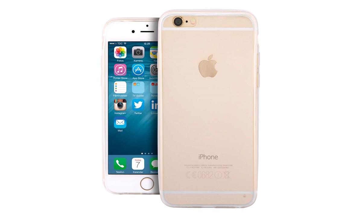 Ultra thin TPU cover clear iPhone 6 PLUS