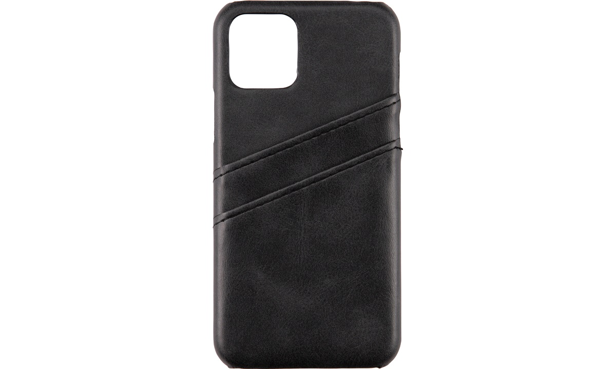 Cover leather black kredittkort iP11 PRO