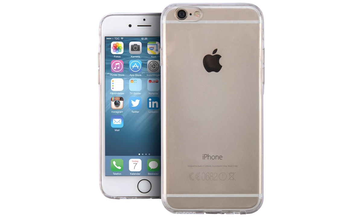 Cover clear thin iPhone 6/6s