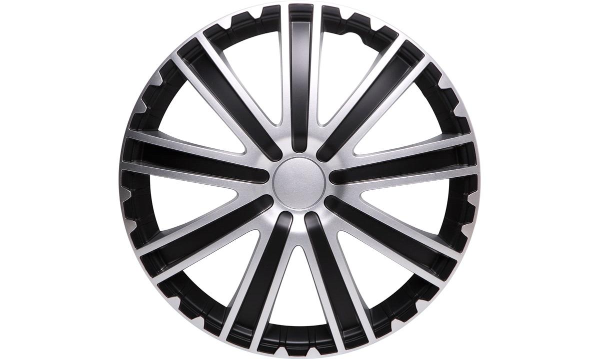"""Hjulkapsler 4 stk. 15"""" TORO black"""