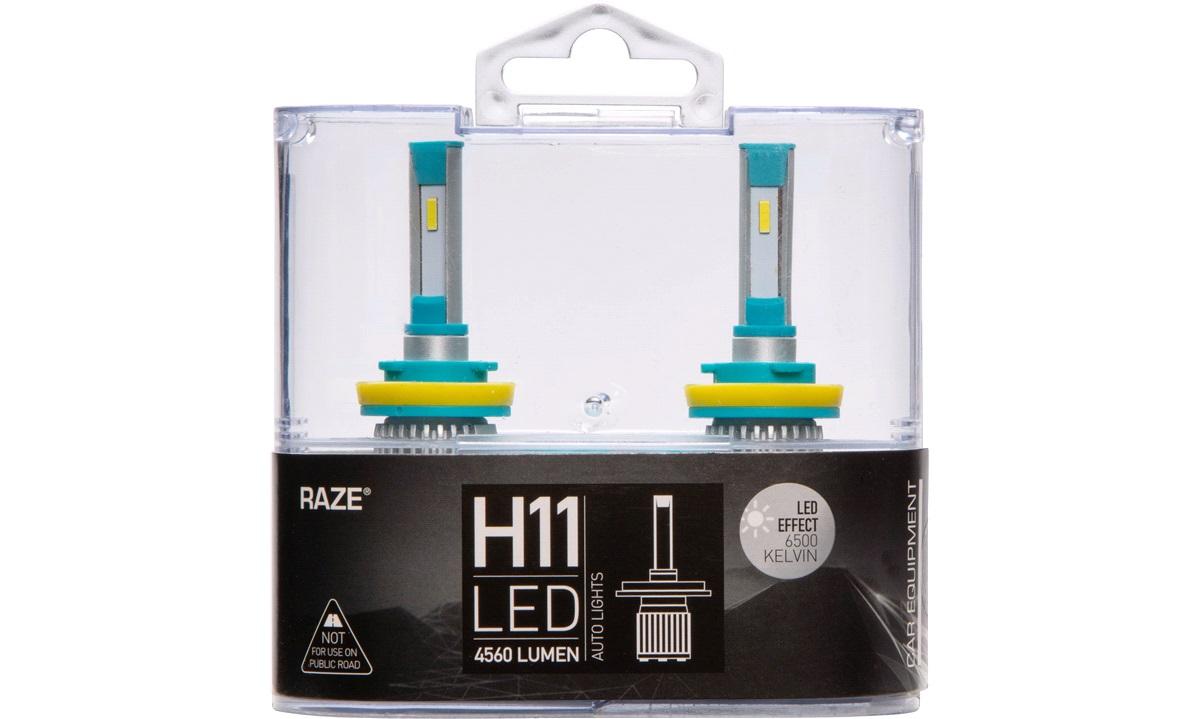 Pæresæt LED H11 6500K 15-20W 4560LM