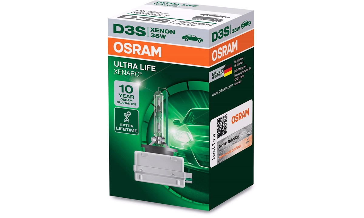 Pære D3S Xenarc Ultra Life 35W PK32D-5 Osram