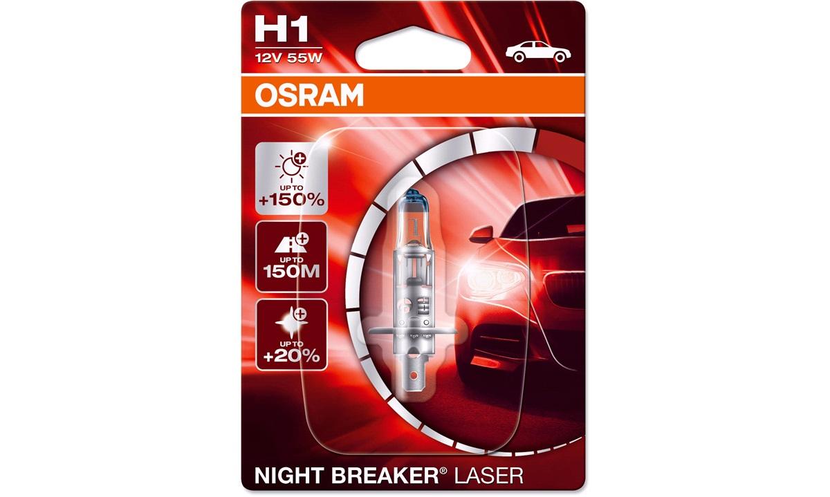 Pære H1 Night Breaker Laser +150