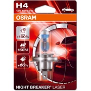 64193NL pære NB Laser +150 H4 Osram