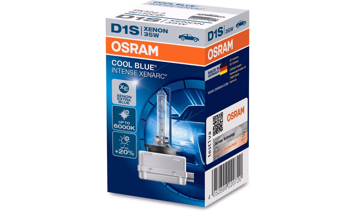 Pære Cool Blue Intense D1S 35W Osram