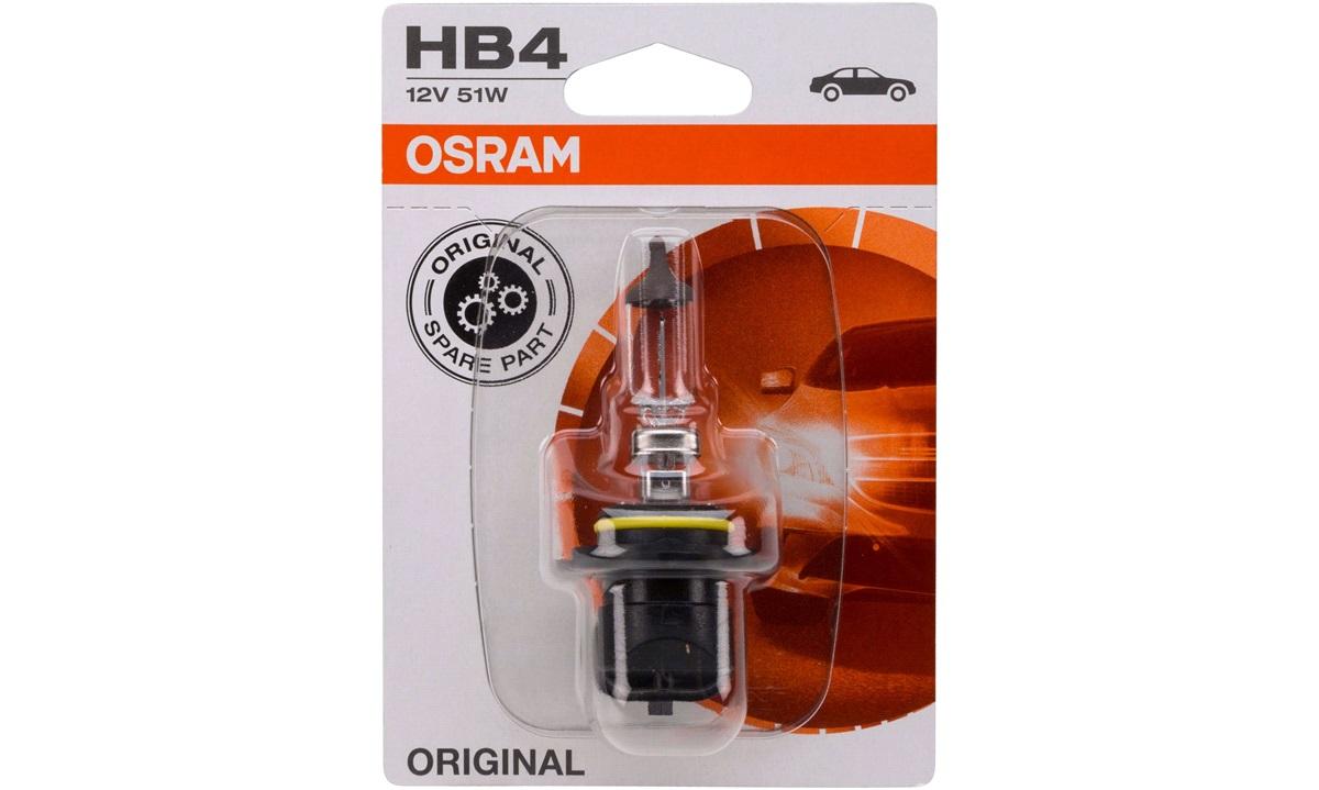 Pære 9006 HB4 51W 12V P22D Blister Osram