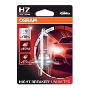 Pære 64210 Night Breaker Unl. H7 Osram