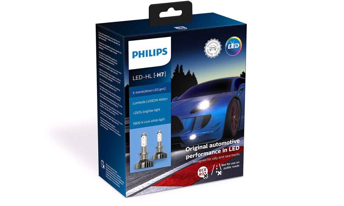 Pæresæt LED Retrofit H7 11972XUWX2