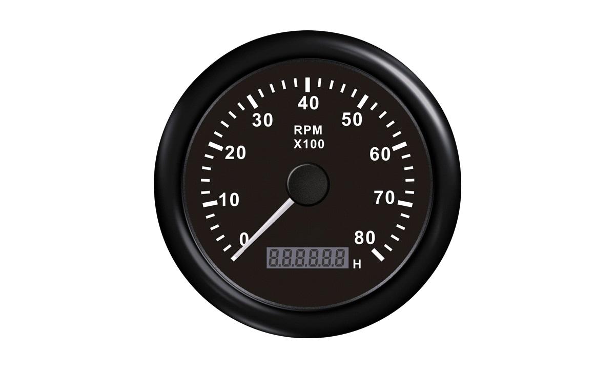 Omdrejningstæller benzin 0-8000 1-10pm/t