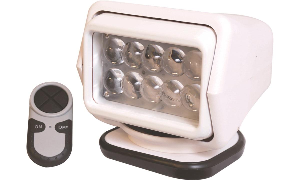 Søkelys LED m trådløs fjernbetjening