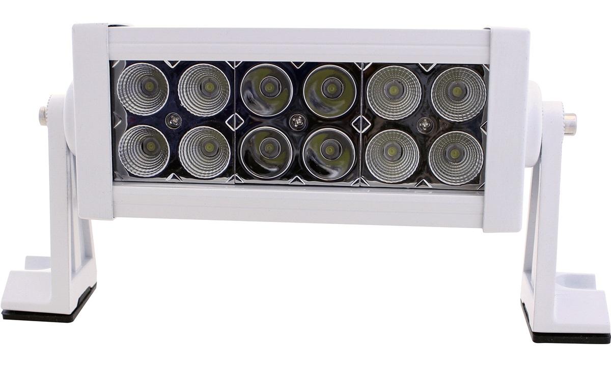 LED light bar 10-30V 36W Combo, hvit Alu