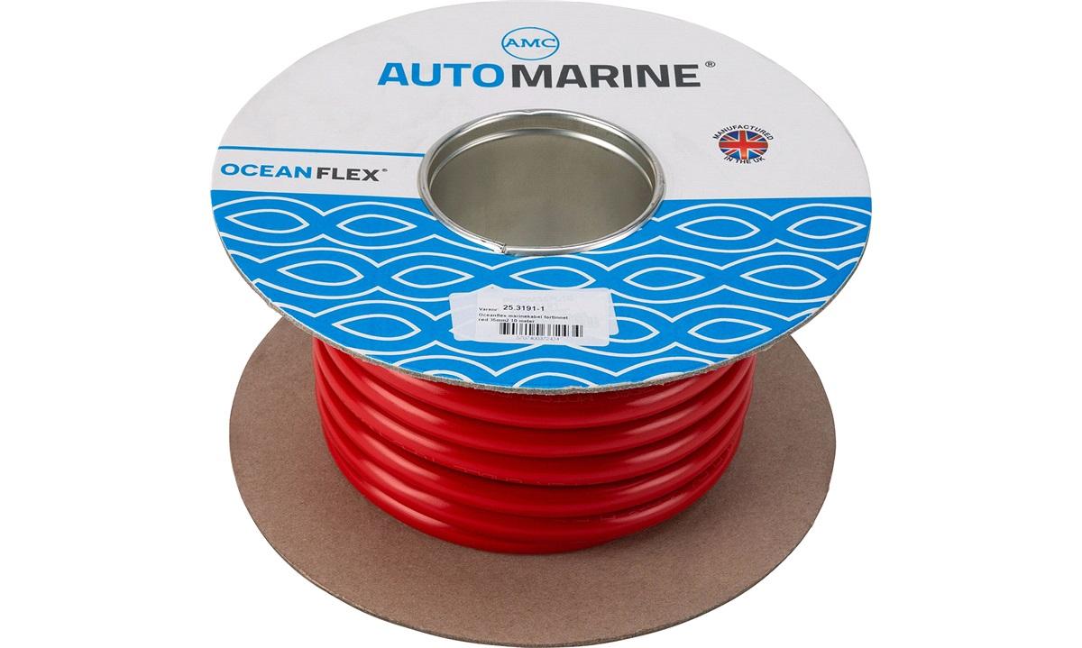 Oceanflex marinekabel rød 35mm2 10 m