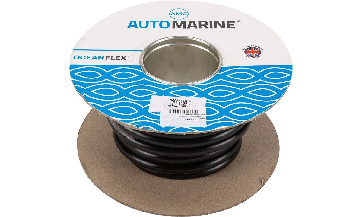 Oceanflex marinekabel sort 35mm2 10 m