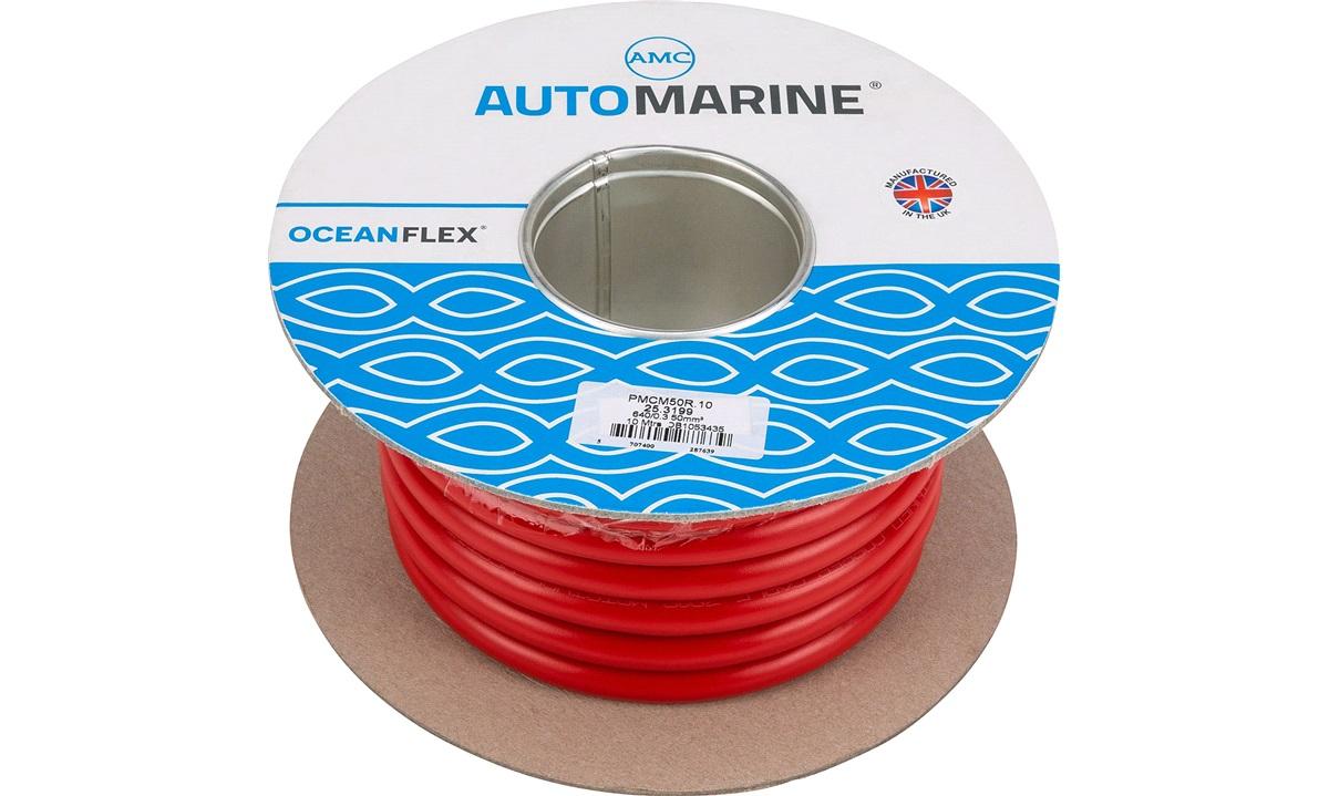 Oceanflex marinekabel rød 50mm2 10 m