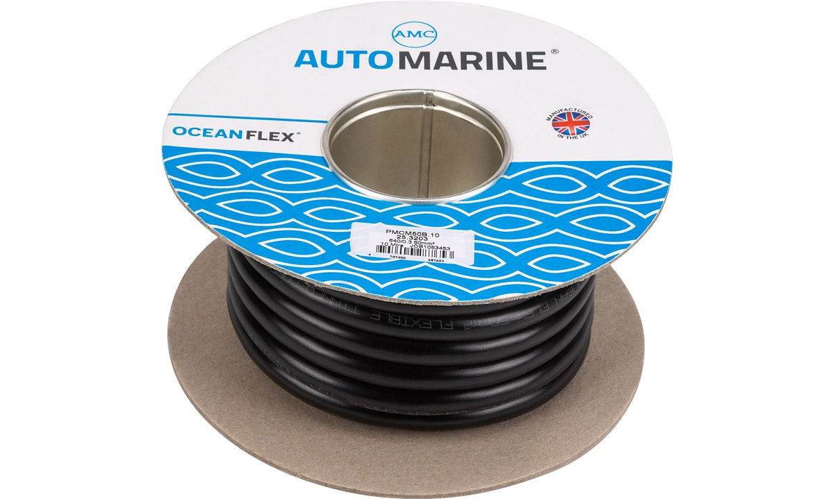 Oceanflex marinekabel sort 50mm2 10 m