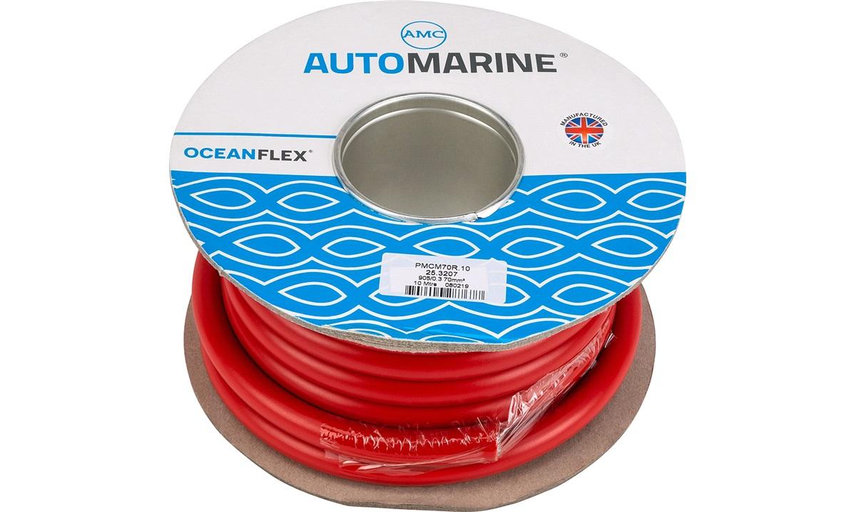 Oceanflex marinekabel rød 70mm2 10 m