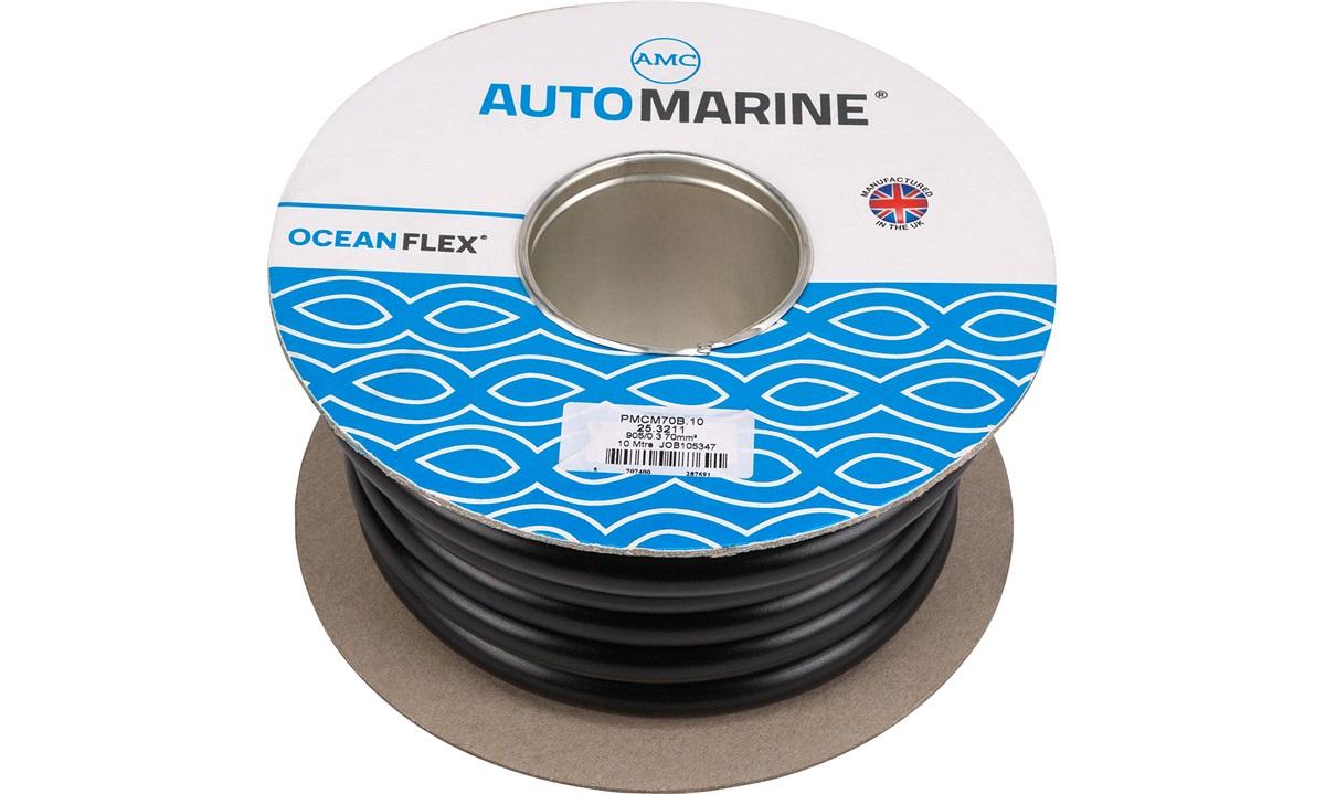 Oceanflex marinekabel sort 70mm2 10 m
