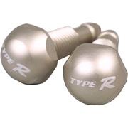 Vindusspyler dyser, titanium, type R