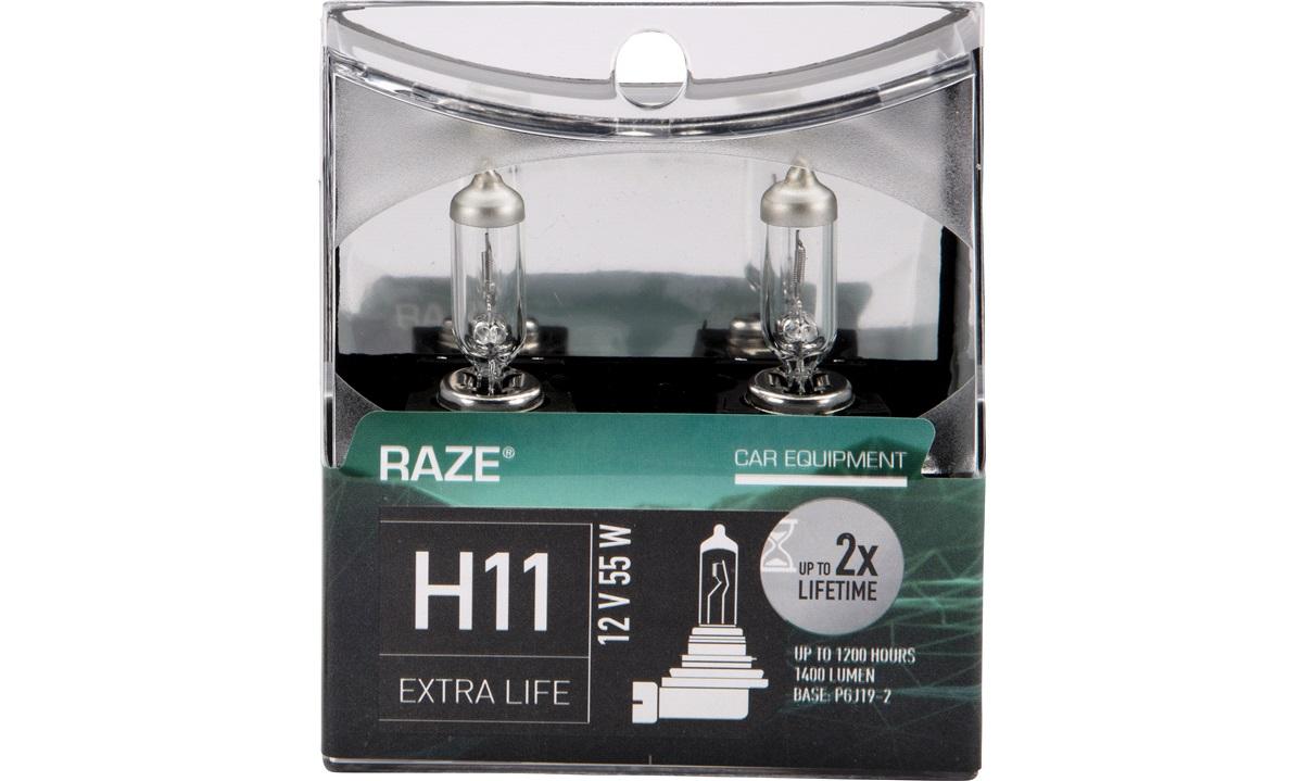 EXTRA LIFE pæresæt H11 RAZE