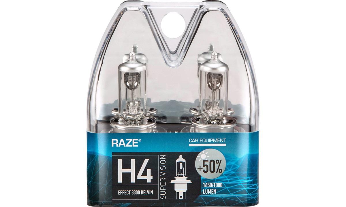 SUPER VISION +50% pæresæt H4 RAZE
