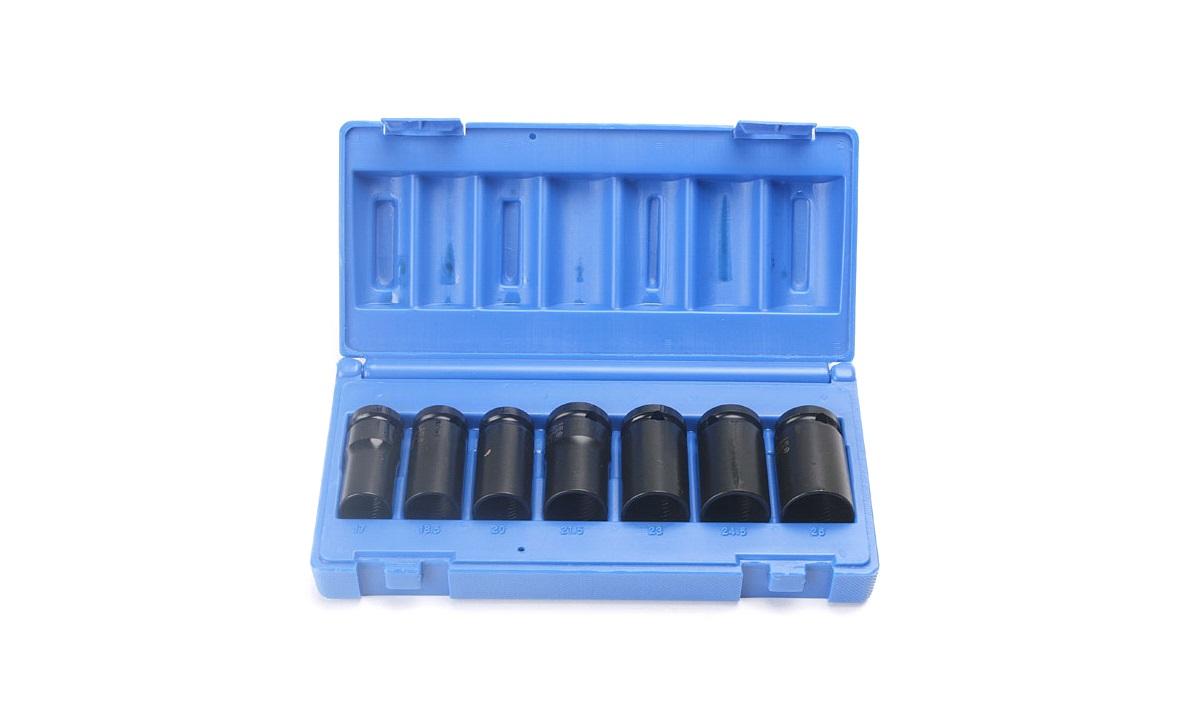 Aftagerværktøjssæt 7 stk. t. låsebolte