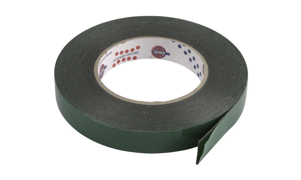 Opdateret Dobbeltklæbende tape 19mm x 10M - Tilbehør - thansen.dk OB24