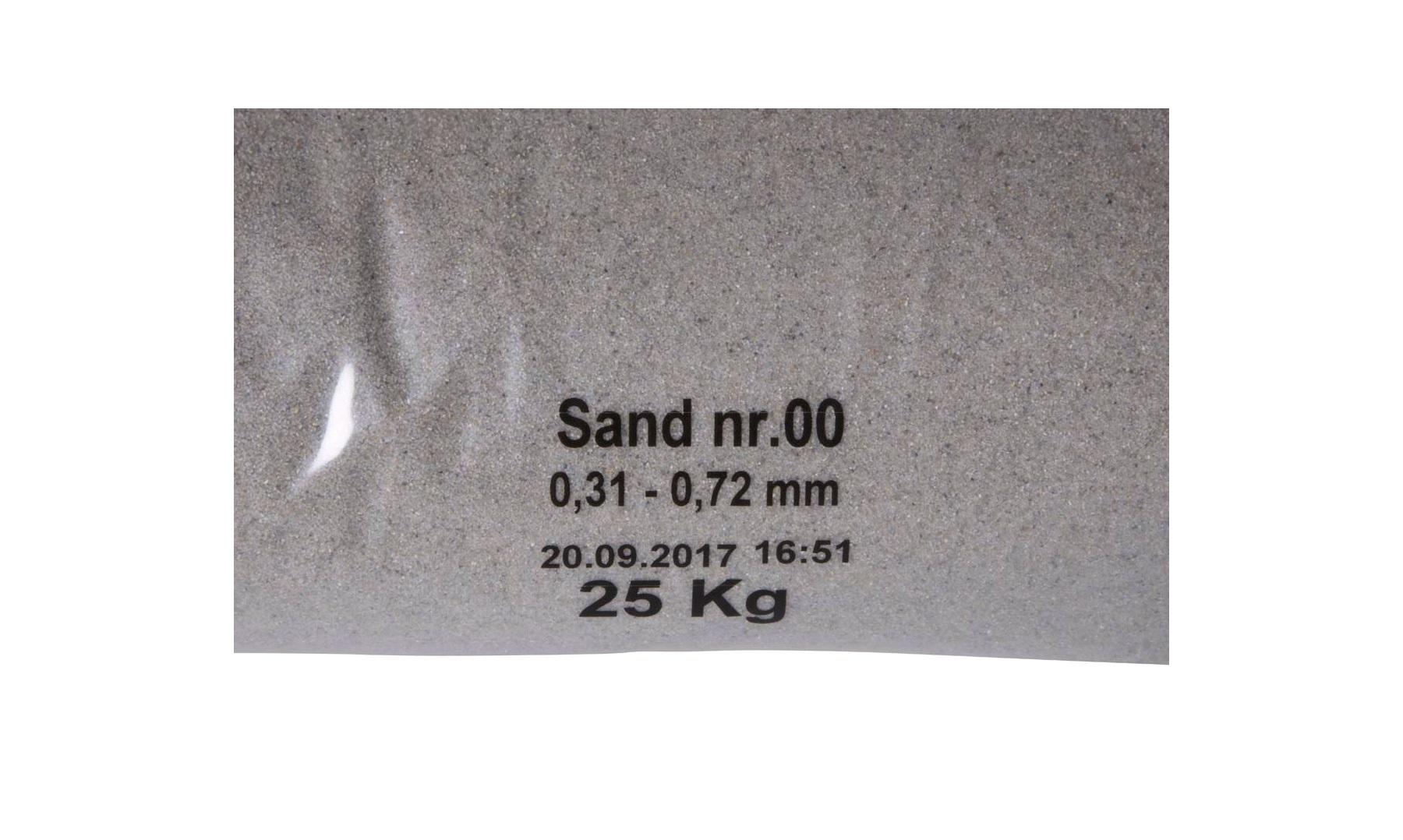Kæmpestor Sandblæsningssand nr. 00 25kg. - Tilbehør - thansen.dk SH03