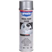 Fælgspray, sølv, 500 ml, acryl