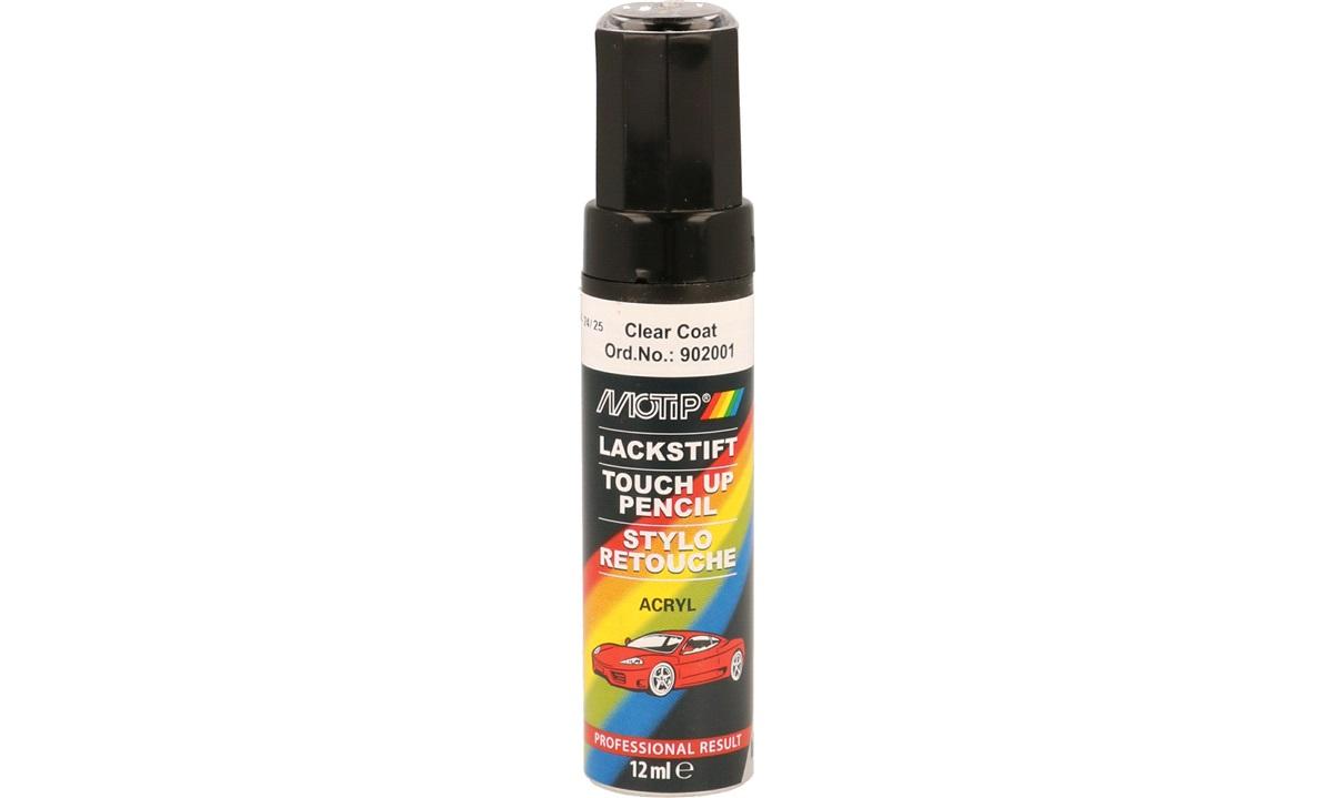 Auto touch up, klar lak, 12 ml, acryl