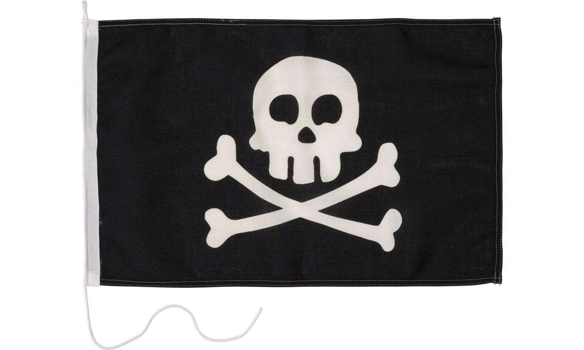 Humorflagg, Pirat, 30x45 cm