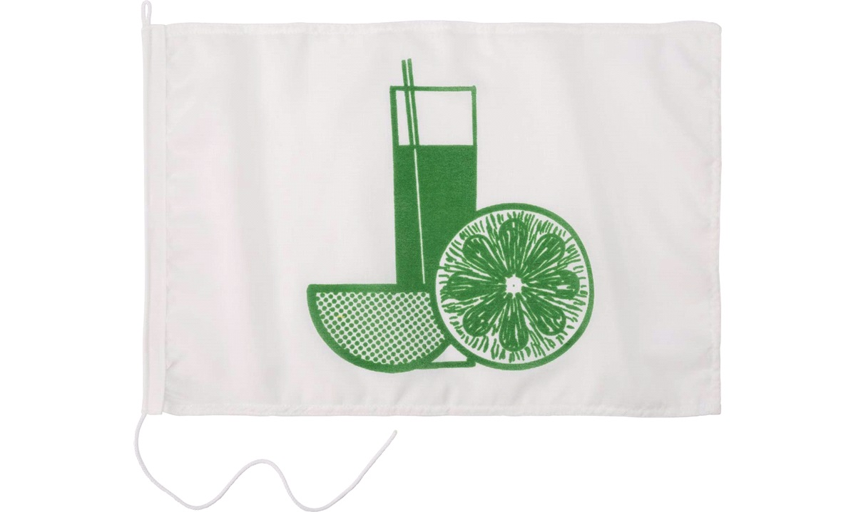 Humorflagg, Drinks, 30x45 cm