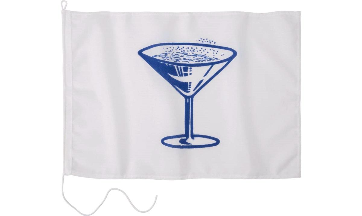 Humorflagg, Champagne, 30x45 cm