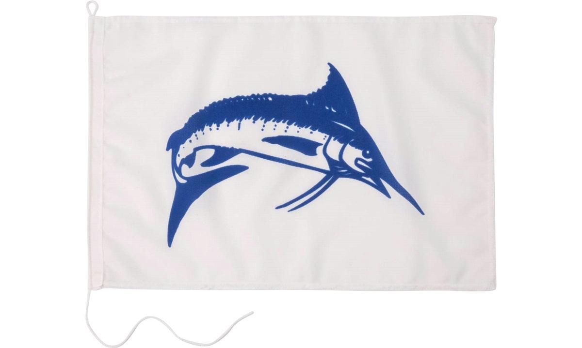 Humorflagg, Fiske, 30x45 cm