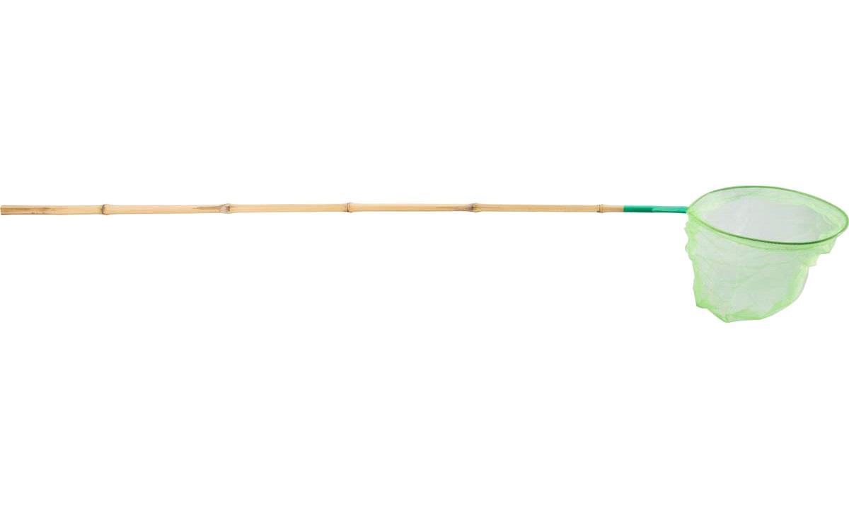 Fiskenet i bambus, ass. farve, 128cm
