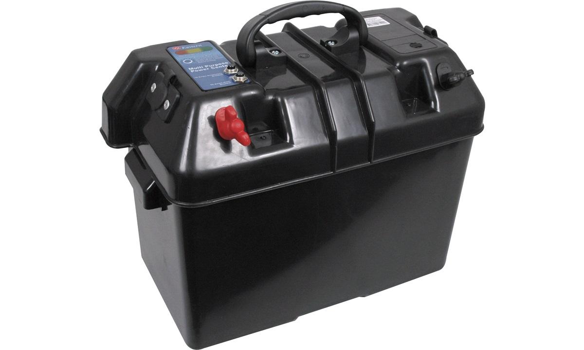 Batteribokse delux  med håndtag max 60a