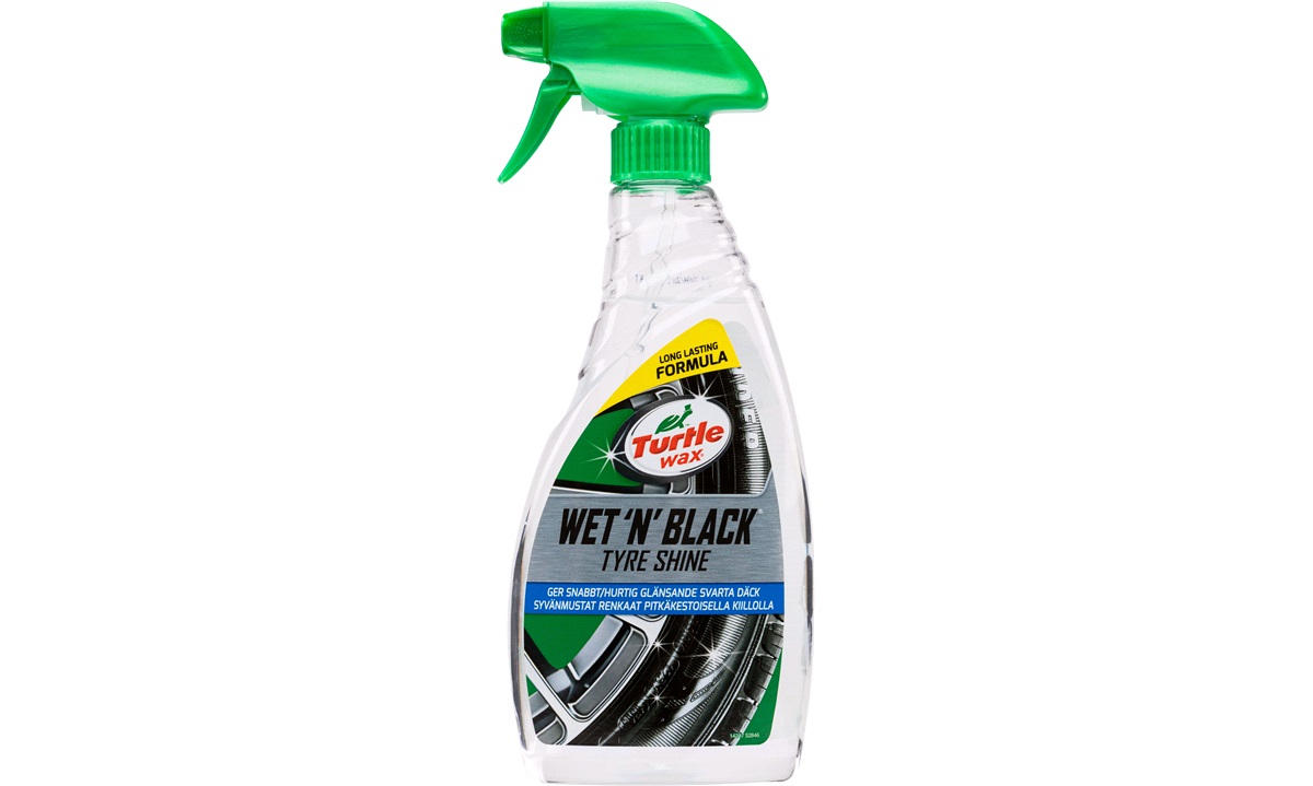 Turtle Wet'n Black dækshine, 500 ml