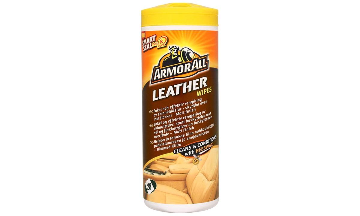 Armor All Leather wipes - læderpleje