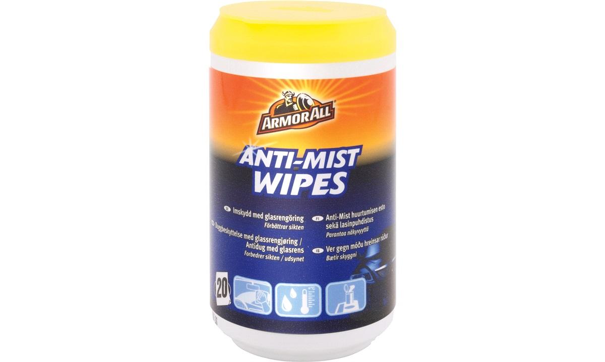 Armor All Wipes Anti Mist/Antidug 20 stk
