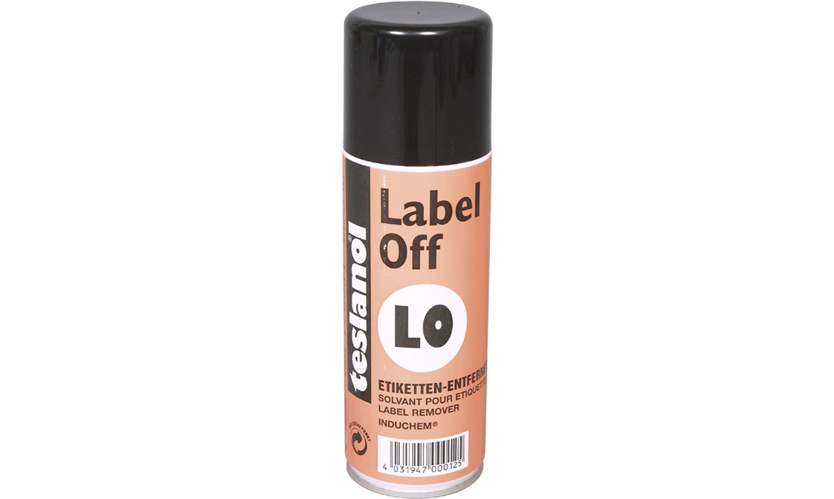 Teslanol Label off spray, 200 ml.