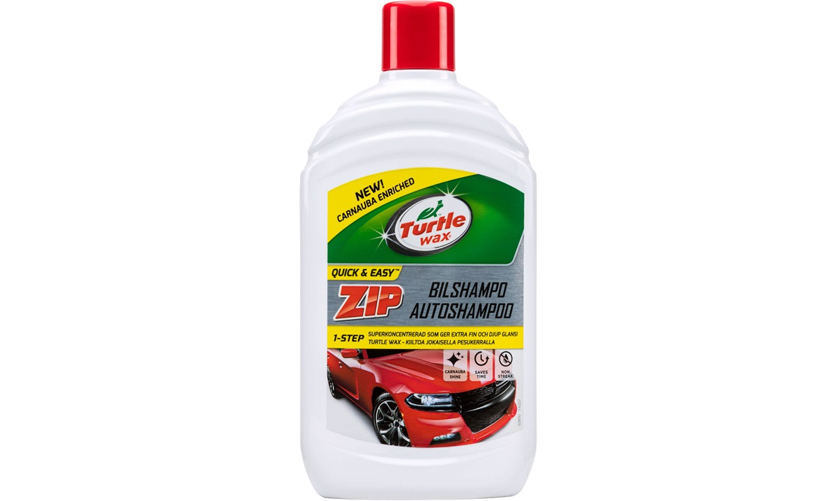 Turtle ZIP bilshampoo 500 ml