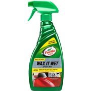 Turtle Wax new!, Wax it Wet Spraywax