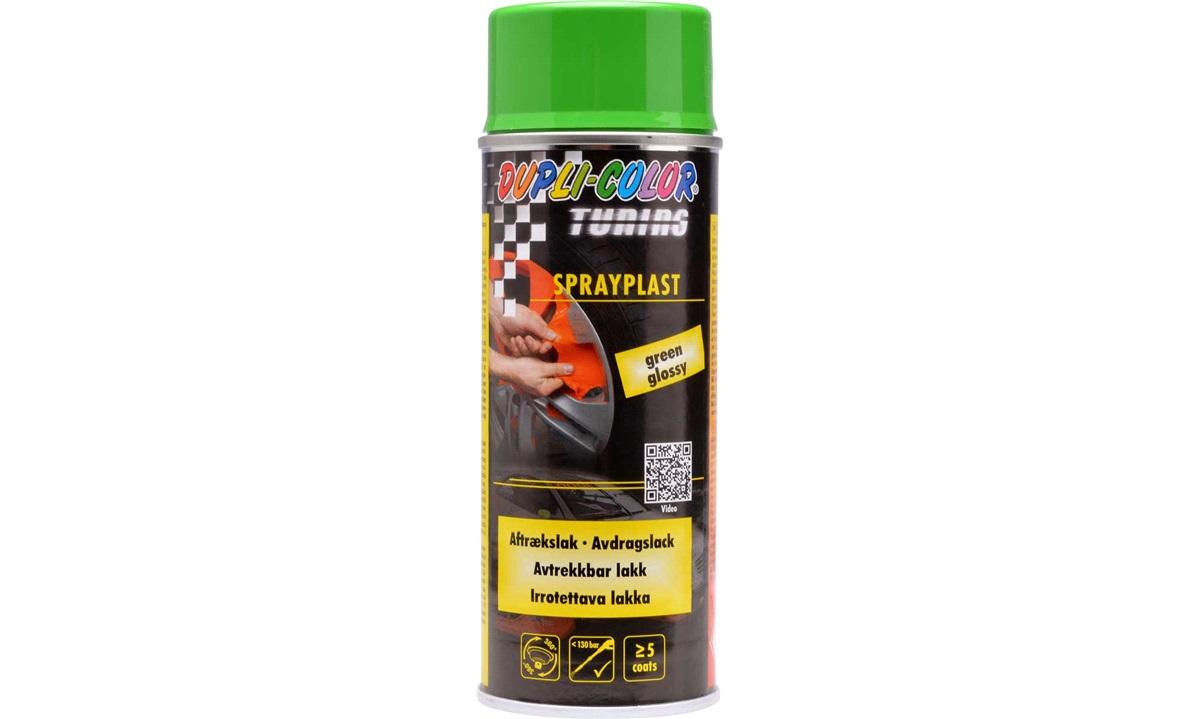 Sprayfolie blank grøn 400 ml.