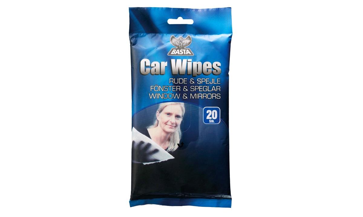 Window Wipes ruderens 20 serviette Basta