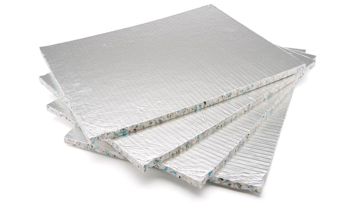 Lyddæmpning, selvklæbende 40x50 cm,4 stk