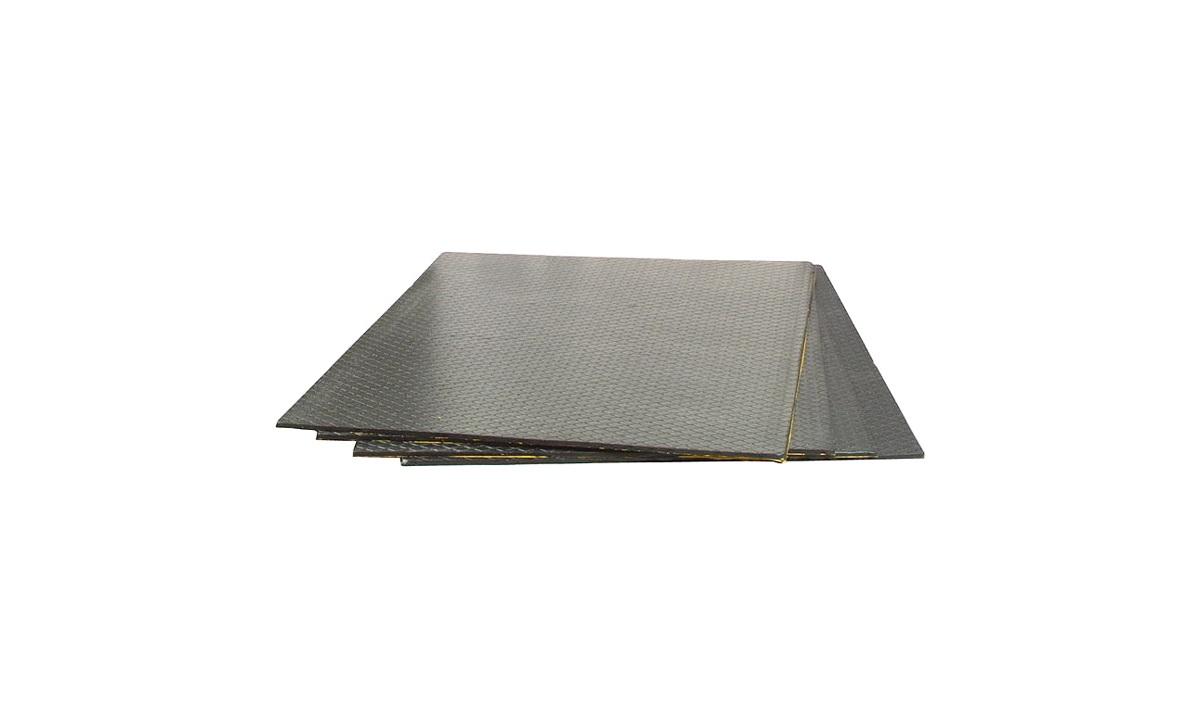 Resonansplader 4 mm, 50x50 cm, 4 stk.