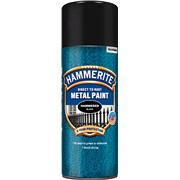 Hammerite glat sort spray